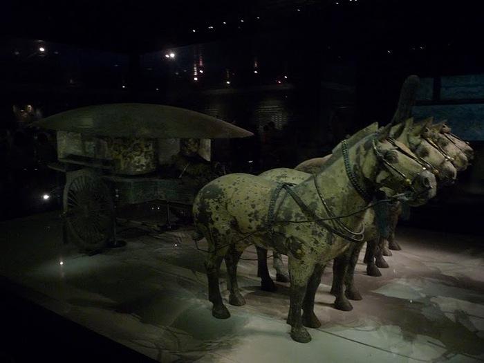Терракотовая армия первого императора Китая в Сиане 37029