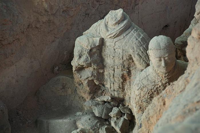 Терракотовая армия первого императора Китая в Сиане 12777