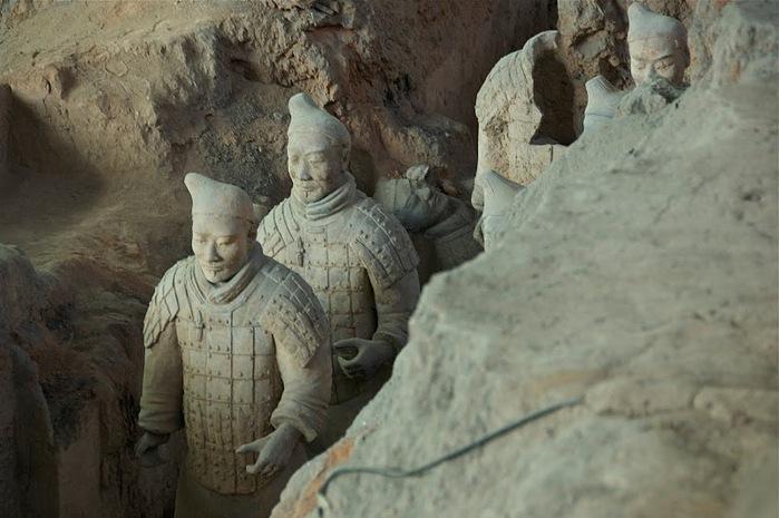 Терракотовая армия первого императора Китая в Сиане 78954