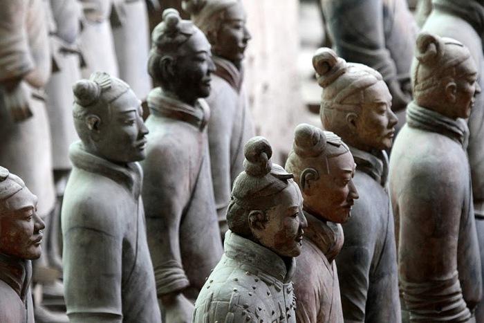 Терракотовая армия первого императора Китая в Сиане 76041