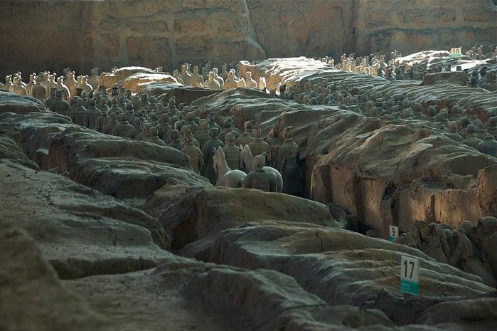 Терракотовая армия первого императора Китая в Сиане 46684