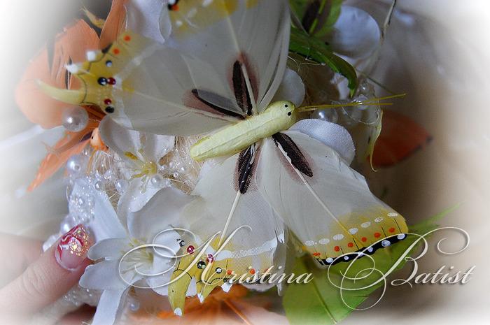 Сваденый букет из бабочек, необычный свадебный букет, букет из бабочек, свадебный букет, букет невесты