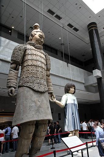 Терракотовая армия первого императора Китая в Сиане 69900