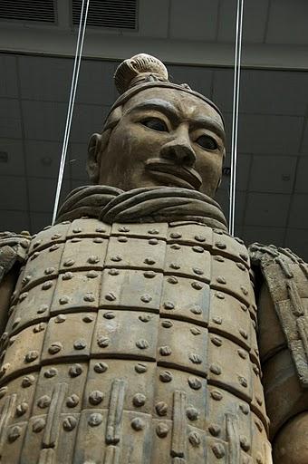Терракотовая армия первого императора Китая в Сиане 69510