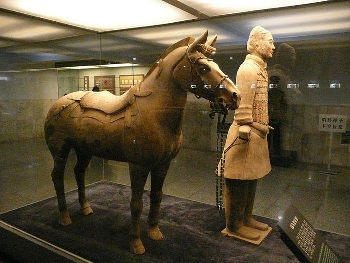 Терракотовая армия первого императора Китая в Сиане 66694