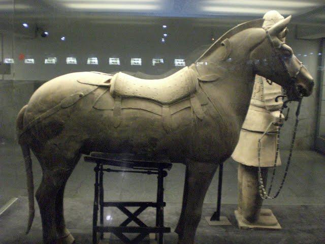 Терракотовая армия первого императора Китая в Сиане 88907