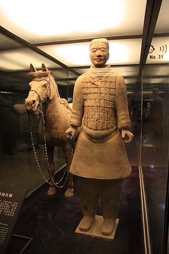 Терракотовая армия первого императора Китая в Сиане 55815