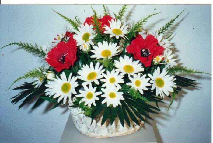 полевые цветы из бисера мастер класс.