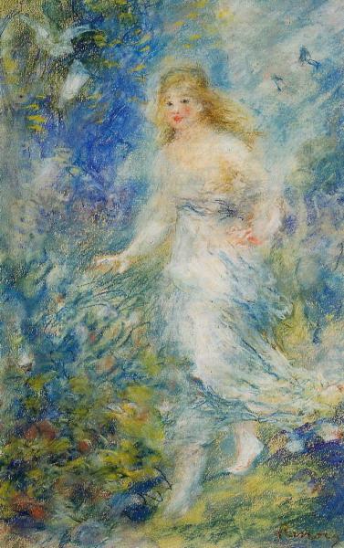Spring (The Four Seasons) - 1879 (377x600, 117Kb)