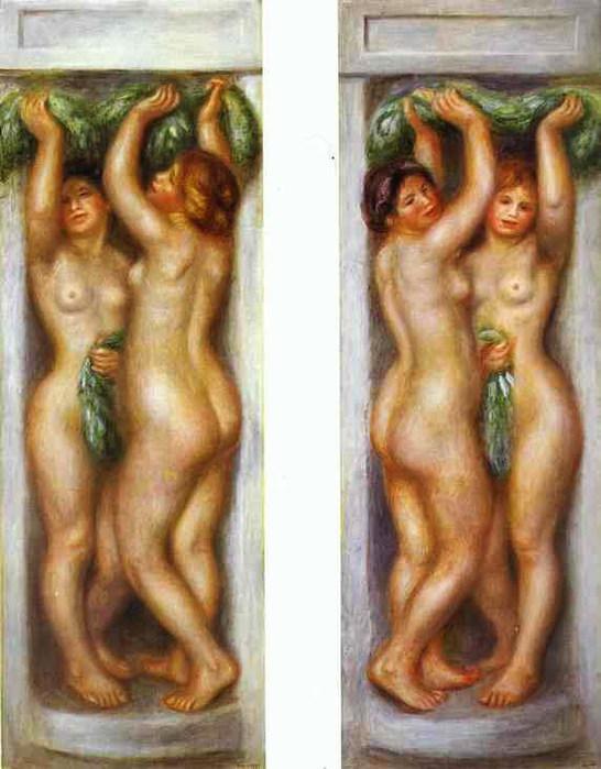 Pierre-Auguste Renoir - Caryatides (546x700, 90Kb)