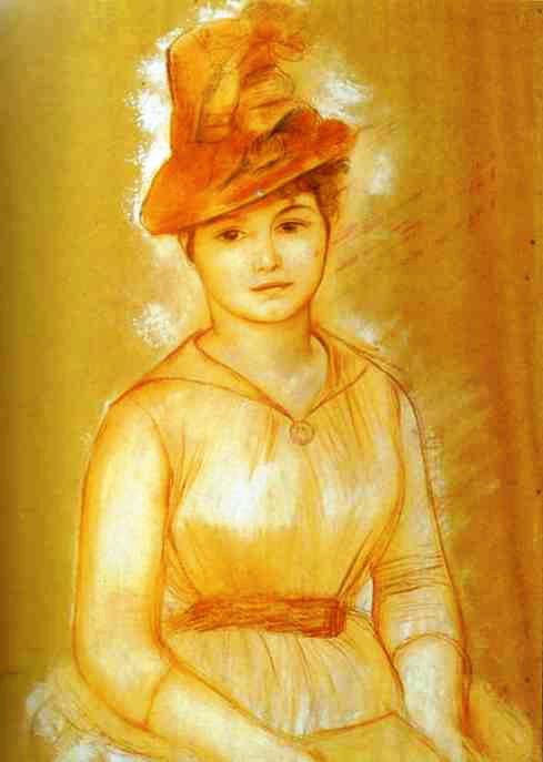 Pierre-Auguste Renoir - Portrait of a Woman (489x687, 40Kb)
