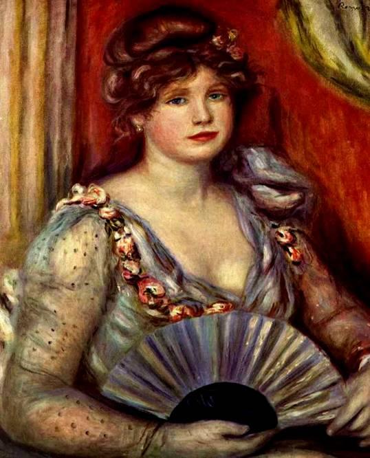 Дама с веером 1906 (538x666, 58Kb)