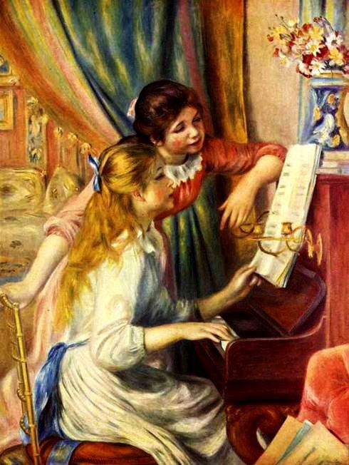 Две девочки за фортепиано 1892 (490x652, 92Kb)