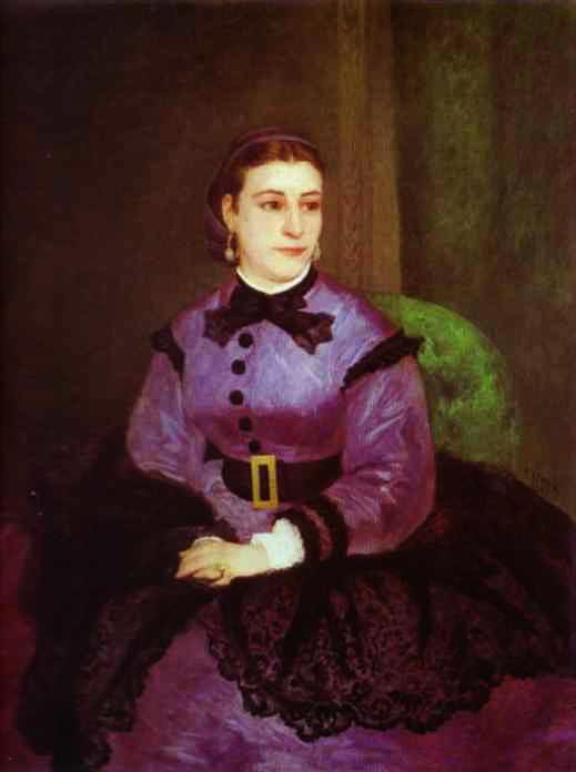 Pierre-Auguste Renoir - Portrait of Mademoiselle Sicot (519x696, 32Kb)