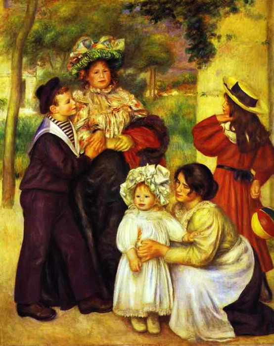 Pierre-Auguste Renoir - The Family of the Artist (554x700, 136Kb)