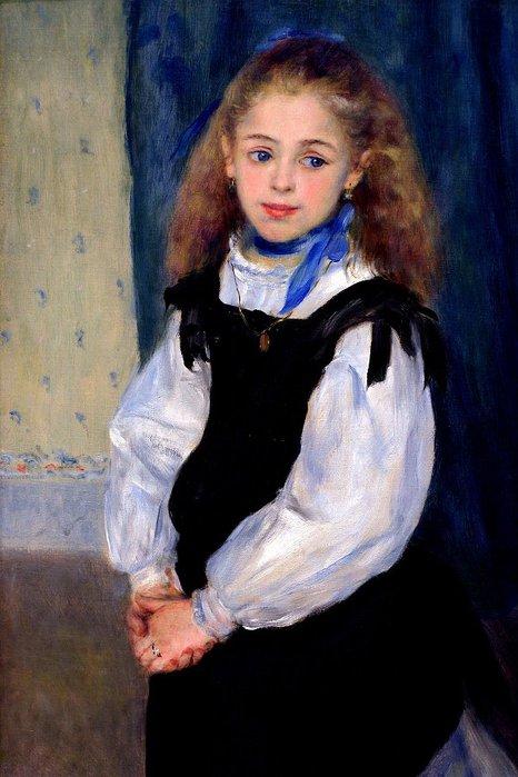 Renoir-Габриэль в красной блузе (1910) (466x700, 65Kb)