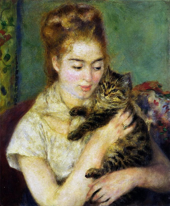 renoir-woman-with-a-cat (581x700, 147Kb)