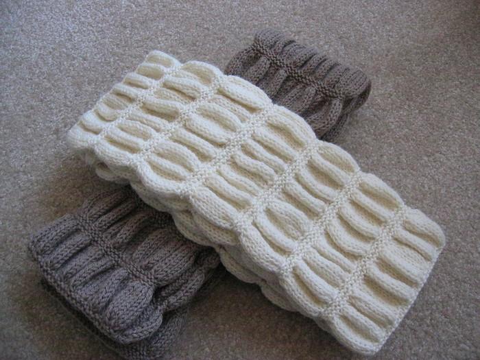 Связать шарф для девочки 10