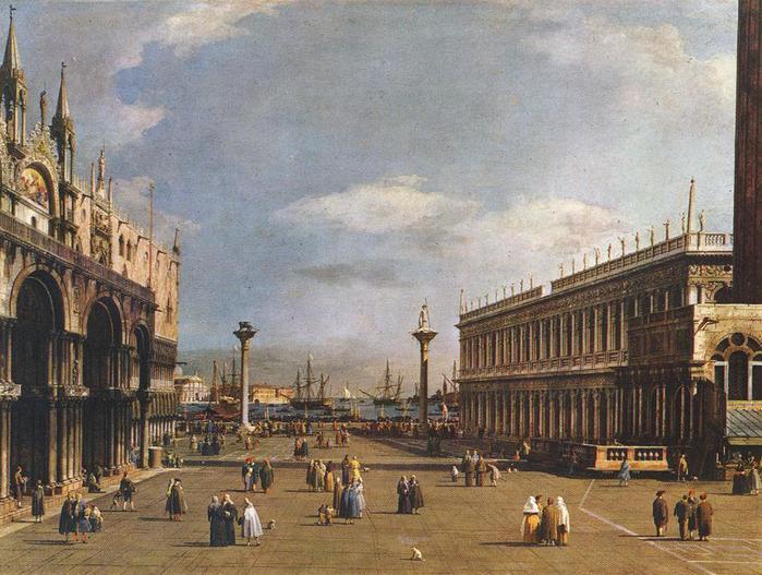 Giovanni_Antonio_Canal,_il_Canaletto_-_The_Piazzetta_-_WGA03897 (700x527, 72Kb)