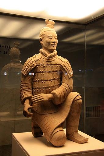Терракотовая армия первого императора Китая в Сиане 97633