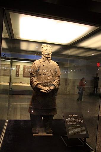 Терракотовая армия первого императора Китая в Сиане 34125