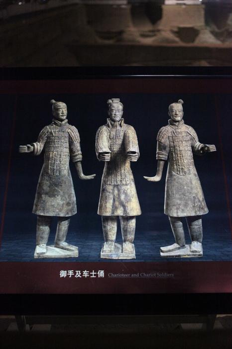 Терракотовая армия первого императора Китая в Сиане 54772