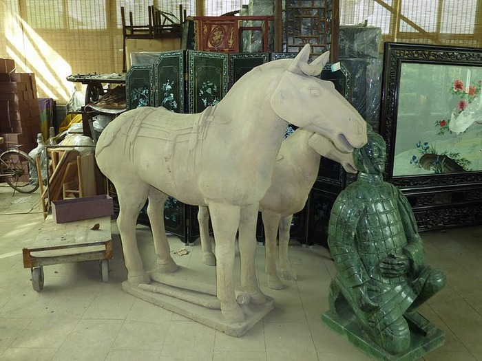 Терракотовая армия первого императора Китая в Сиане 34094