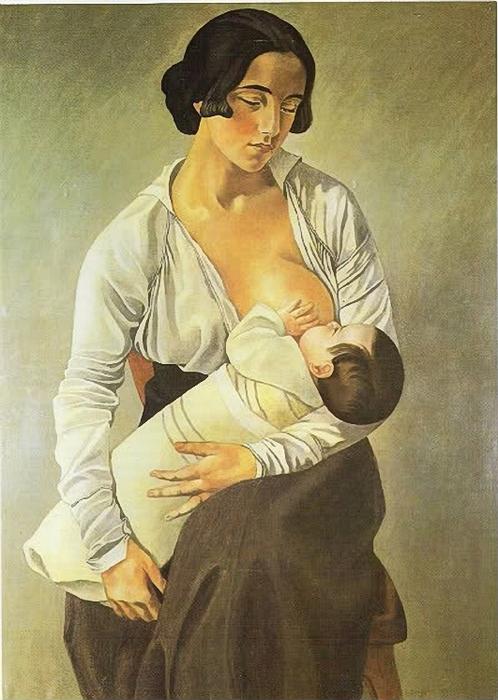 Maternidad. Gino Severini (498x700, 271Kb)