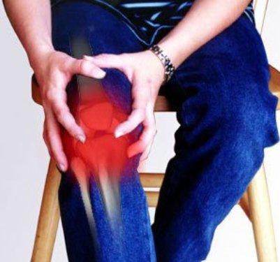 Лечение и очищение коленного сустава.