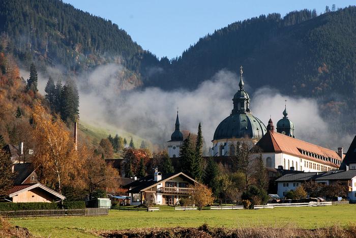 Монастырь Этталь (Kloster Ettal) 49958