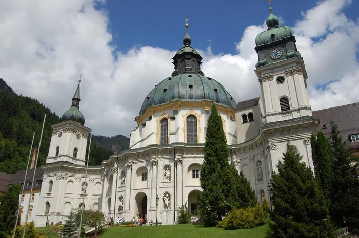 Монастырь Этталь (Kloster Ettal) 42192