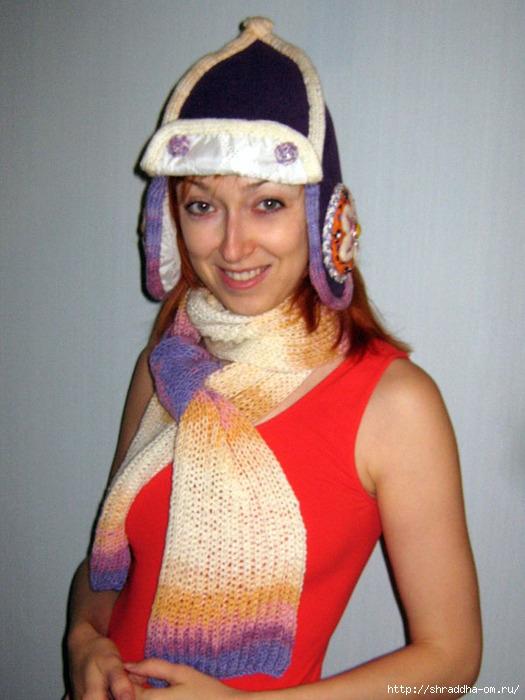 Шарф спицами. Более 50 схем вязание шарфа спицами 25