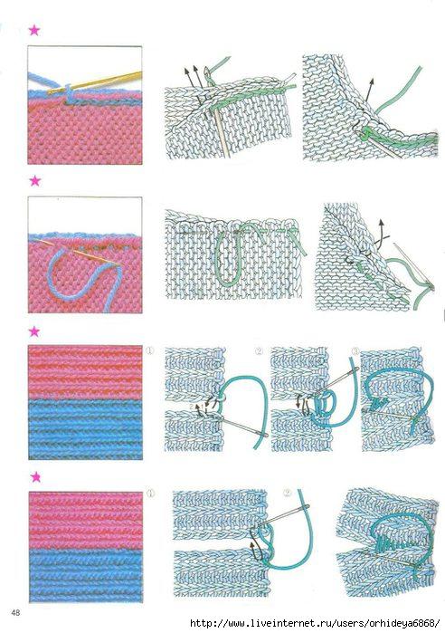 Вязание крючком и спицами в картинках 588