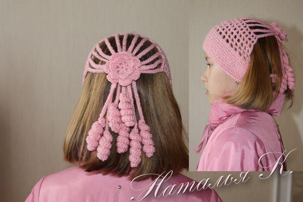 Вязание шапок на узелке: вязание крючком шапки, схема вязания шапок.