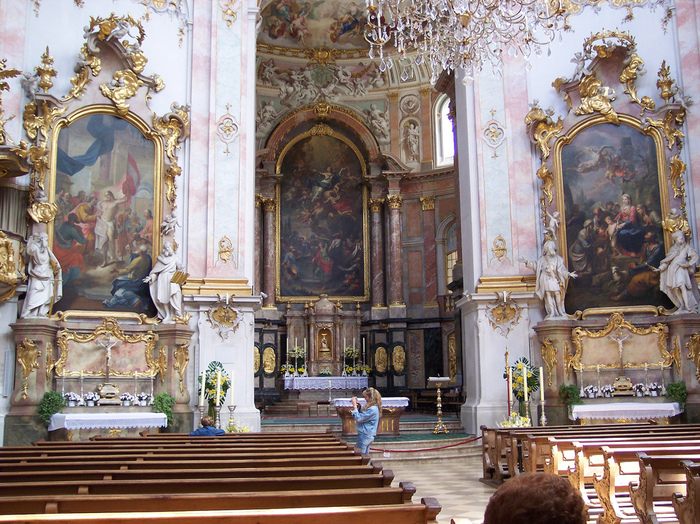 Монастырь Этталь (Kloster Ettal) 63519
