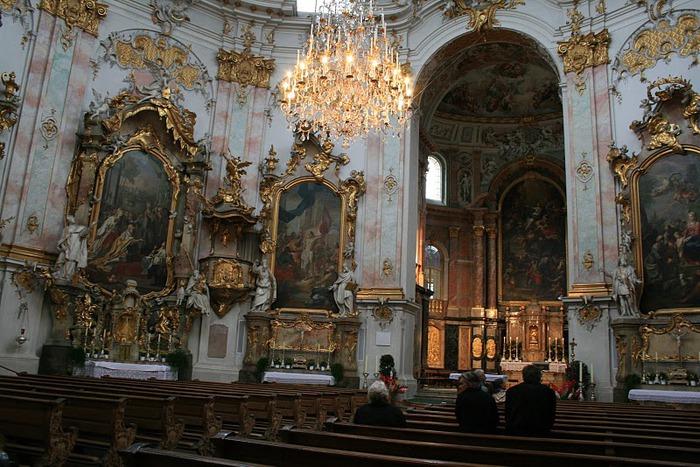 Монастырь Этталь (Kloster Ettal) 98423