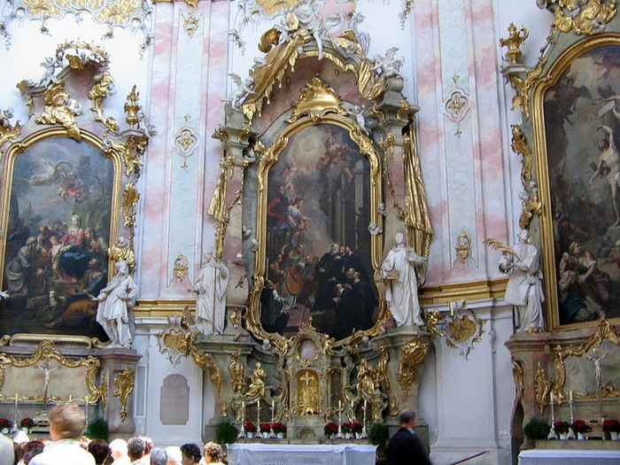 Монастырь Этталь (Kloster Ettal) 28037