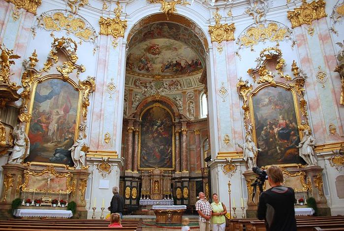 Монастырь Этталь (Kloster Ettal) 56108