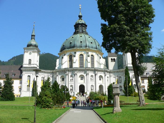Монастырь Этталь (Kloster Ettal) 91027