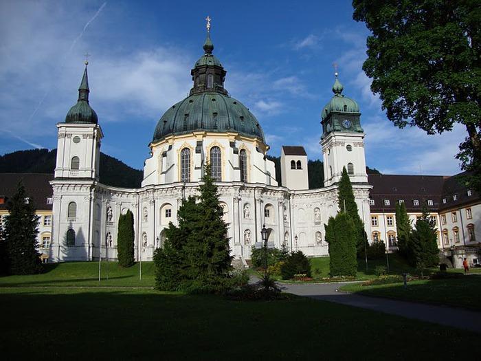 Монастырь Этталь (Kloster Ettal) 65884