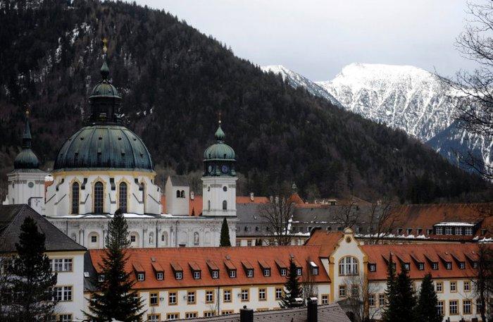 Монастырь Этталь (Kloster Ettal) 98537