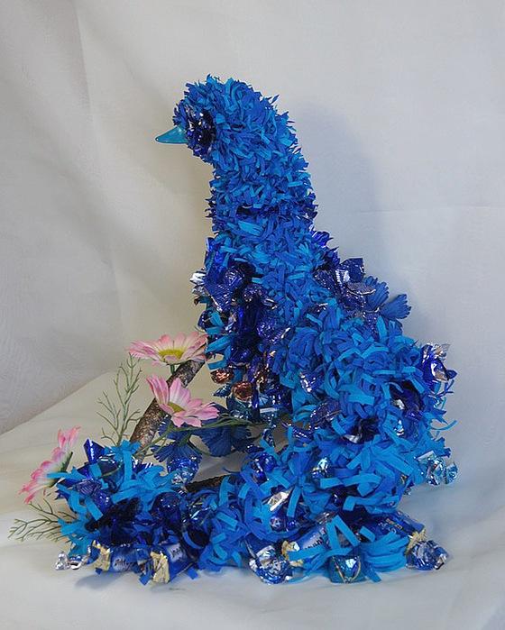 Птица синяя своими руками 50