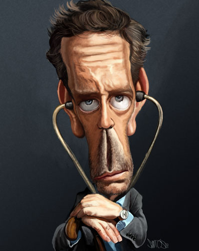 House_M_D__caricature_by_nelsonsantos (397x500, 33Kb)