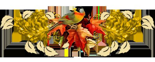 осень и птичка (500x201, 139Kb)
