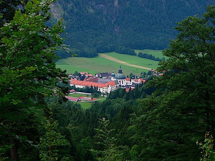Монастырь Этталь (Kloster Ettal) 18083