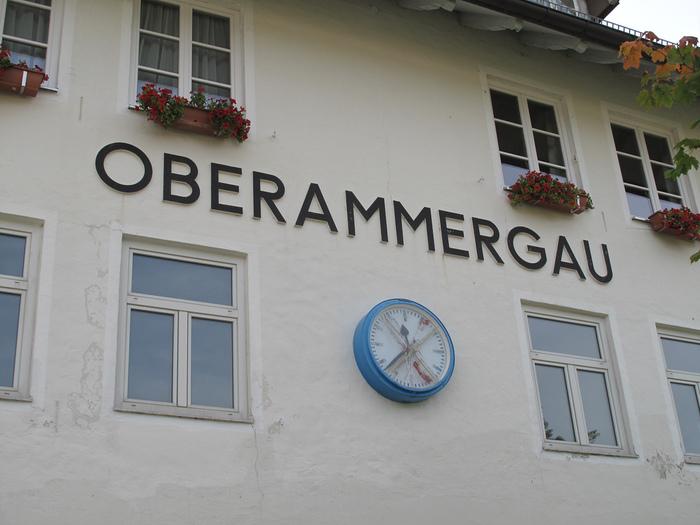 Обераммергау- маленькая деревушка с большой историей. 53614