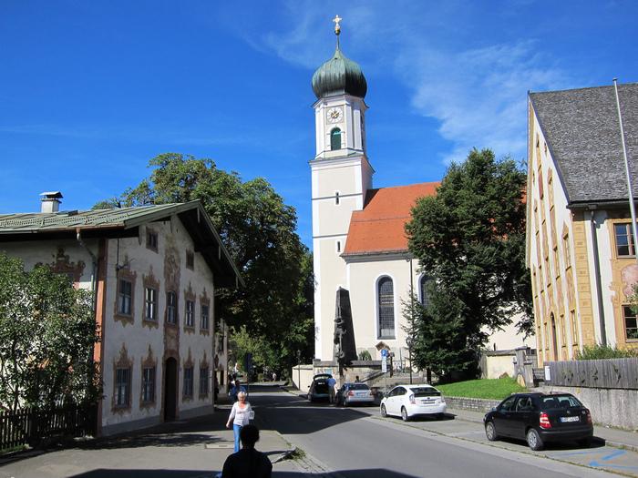 Обераммергау- маленькая деревушка с большой историей. 50475
