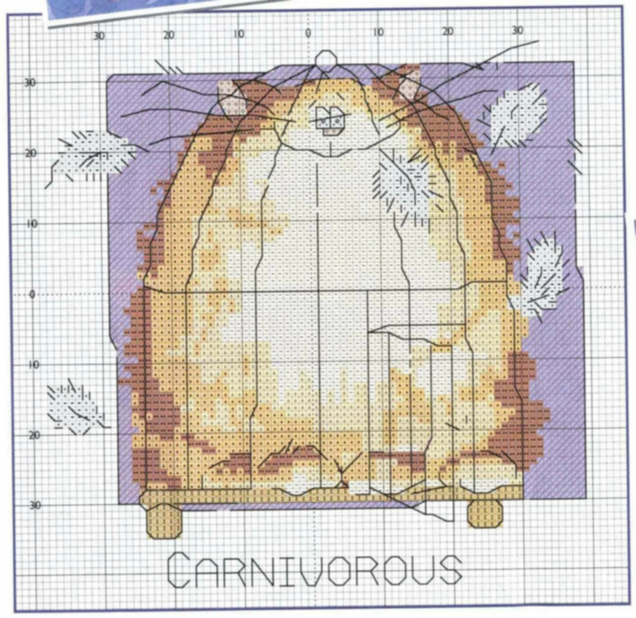 margaret_sherry_-_calendar_2006_07july_carnivorous_cat__2_857349 (700x679, 463Kb)