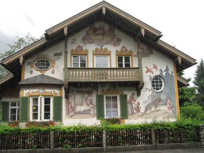 Обераммергау- маленькая деревушка с большой историей. 94855
