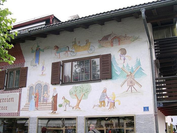 Обераммергау- маленькая деревушка с большой историей. 41355